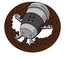 Happy Coffee Photographic Print