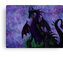 Dragon Maleficent Canvas Print