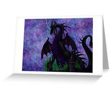 Dragon Maleficent Greeting Card