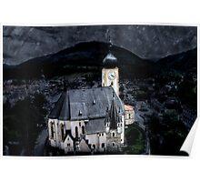 Little Austrian church Poster