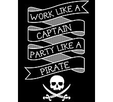 Party like a Pirate Photographic Print