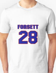 National football player Justin Forsett jersey 28 T-Shirt