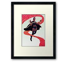 Storm Inferno Framed Print