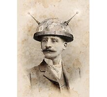 Dr Lampwicke's Amazing Mind Machine Photographic Print