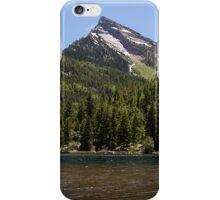Lizard Lake with Hat Mountain iPhone Case/Skin