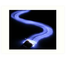 Painting with Light Art Print