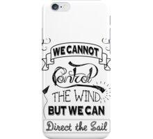 Control the Wind iPhone Case/Skin