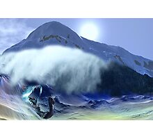 Dragon Wars - A collaboration. Photographic Print