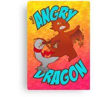 Angry Dragon Canvas Print