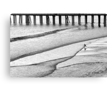Skim Surfing Canvas Print
