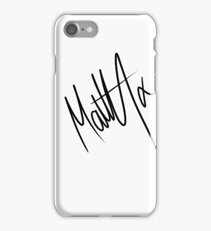 Matty Healy Autograph iPhone Case/Skin