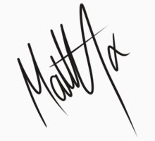 Matty Healy Autograph by Maisie Jones
