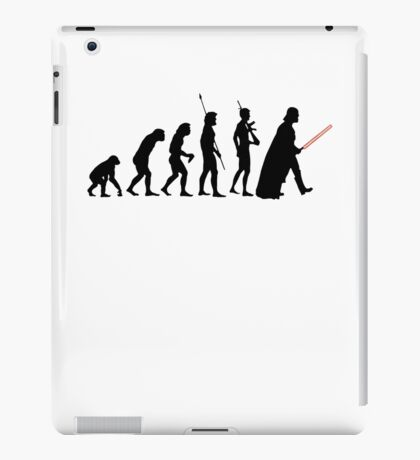 Dark side of Evolution iPad Case/Skin