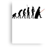 Dark side of Evolution Canvas Print