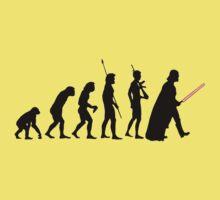 Dark side of Evolution One Piece - Short Sleeve