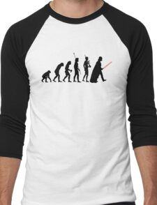 Dark side of Evolution Men's Baseball ¾ T-Shirt