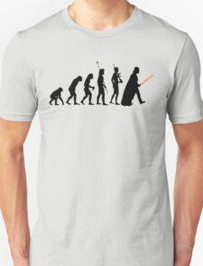 Dark side of Evolution Unisex T-Shirt