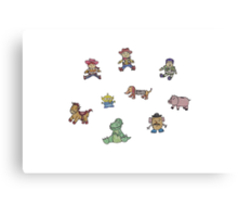 Toy Story Plushies Canvas Print