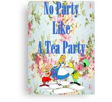 No Party Like This Canvas Print