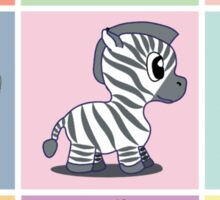 Zoo Baby's Color Sticker