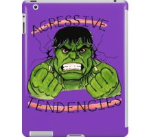 The Incredible Hulk Tattoo Flash iPad Case/Skin