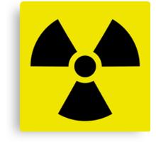 Ionizing Radiation sign - U+2622 Canvas Print