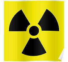 Ionizing Radiation sign - U+2622 Poster