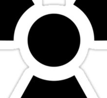 Ionizing Radiation sign - U+2622 Sticker