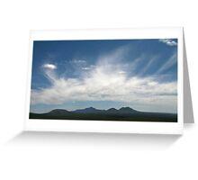 Stirling Ranges Panorama Greeting Card