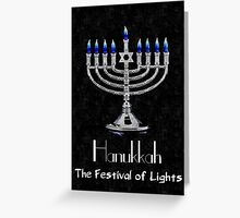 Hanukkah - The festival of Lights Greeting Card
