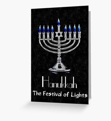 Hanukkah - The festival of Lights Greeting Card