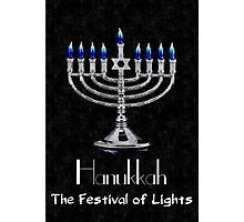 Hanukkah - The festival of Lights Photographic Print