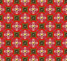 Christmas Garden Pattern by PETER GROSS