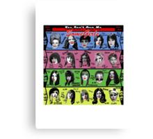Women Who Rock Canvas Print