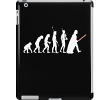 The Dark Side Of Evolution - White  iPad Case/Skin