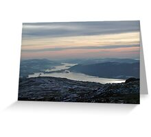 Windermere in Winter Greeting Card