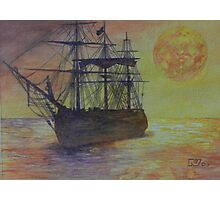 Tallship Photographic Print