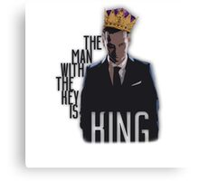 Moriarty - The Man with the Key is King Canvas Print