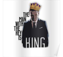 Moriarty - The Man with the Key is King Poster
