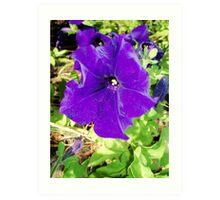 Purple Fella Art Print