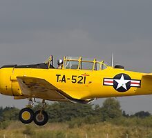 North American Harvard MkIV by Peter Lawrie