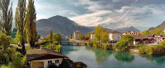 Interlaken Panorama by kuntaldaftary