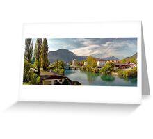 Interlaken Panorama Greeting Card