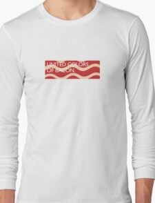 United Colors of Bacon Long Sleeve T-Shirt