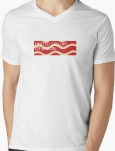 United Colors of Bacon Mens V-Neck T-Shirt