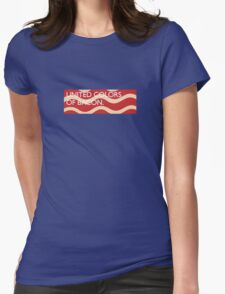 United Colors of Bacon Womens Fitted T-Shirt