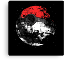 Pokeball DS Spaceship Canvas Print