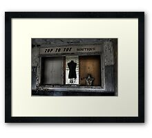 Boutique Framed Print