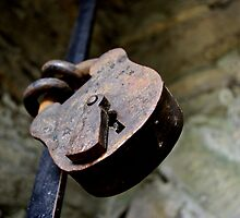 Old Padlock by Kady