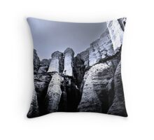 MAJESTIC WHITES Throw Pillow